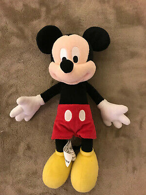 "Mickey Mouse Disney Parks Authentic Original 12"" Stuffed Plush Doll"
