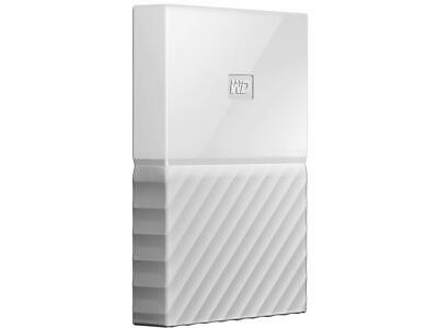 WD 1TB My Passport Portable Hard Drive USB 3.0 Model WDBYNN0010BWT-WESN White