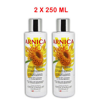 Officinalis ARNICA 90% GEL 500 ml ANTINFIAMMATORIO,DISTORSIONI,TRAUMI 2 X 250 ml