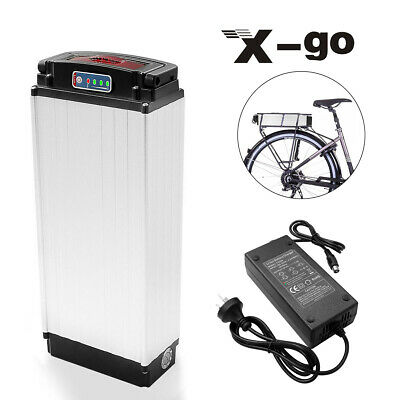 48V 20Ah 1000W Battery Pack Rear Rack Carrier Lithium E-bike Electric Bicycle AU