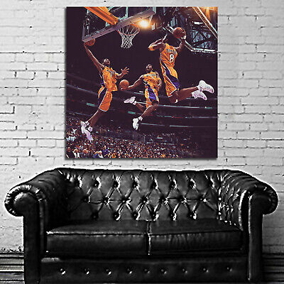 #50 Kobe Bryant Basketball Sport Athlete 40x40 inch More Sizes Large Poster