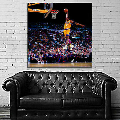 #52 Kobe Bryant Basketball Sport Athlete 40x40 inch More Sizes Large Poster