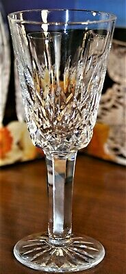 Waterford Crystal LISMORE Sherry Glass Signed 600/318