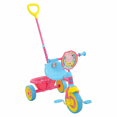 Peppa Pig My First Trike (New Version) with detachable handle