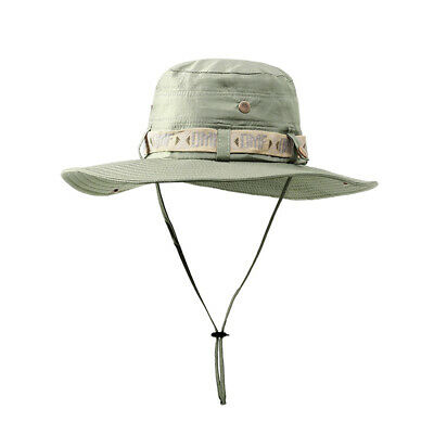 Army Men Tactical Sniper Hats Boonie Hat Summer Sun Protection Cap Fishing Beach