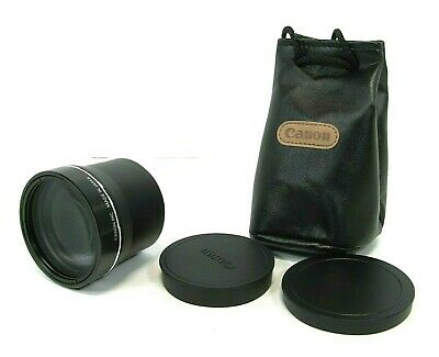 Canon TL-H58 1.5x Tele-Converter Lens w/Case, Excellent Condition, Free Shipping