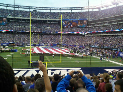 New York Giants vs Chicago Bears 8/16/19 - Two Tickets Section 126 w/ Parking**