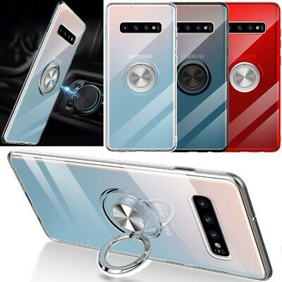 Samsung Galaxy S20 Note 10 S9 S8 S10 Plus 5G Magnetic Ring Holder Stand Case