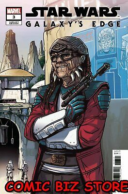 Star Wars Galaxys Edge #3 (Of 5) (2019)  Scarce 1:25 Wijngaard Variant Cover