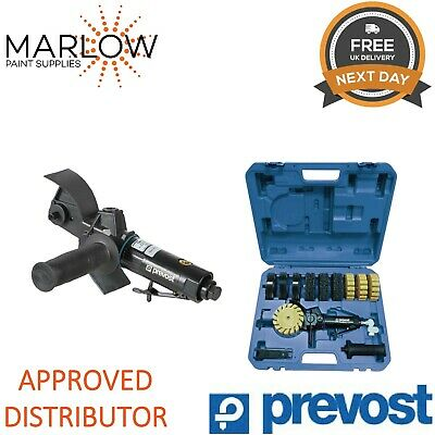 Prevost Tmb3500K Pneumatic Surface Conditioning Machine Mbx - Kit In Case
