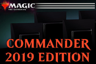 Commander 2019 Sealed Set of ALL 4 DECKS! - NEW / NIB / FACTORY SEALED!