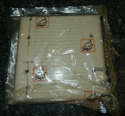 Sierra Electric Blank Outlet Plate/Cover With 4 Screws~ NIP~Fast Free Ship!