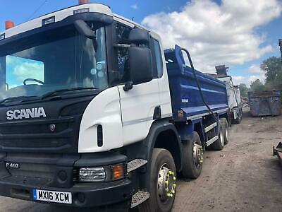 Euro6 Scania 8x4 Tipper