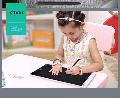 "Electronic 10"" LCD Writing Tablet Kid's eWriter Learn Drawing Notes Stylus Pen"