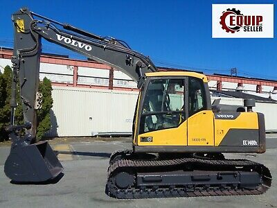 2013 Volvo EC140DL Hydraulic Crawler Excavator Loader  Diesel  Low Hours