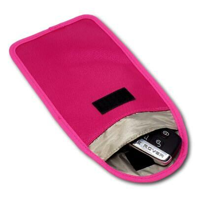 Minder Signal Blocker - Jamming Case with RFID Blocking Pouch Hot Pink