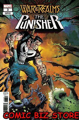 War Of The Realms Punisher #3 (Of 3) (2019) Scarce 1:25 Mccrea Variant Cover