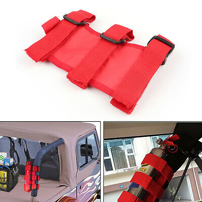 Red Support Extincteur Car Auto FRixed Holder Pour Jeep Wrangler TJ YJ JK CJ FR
