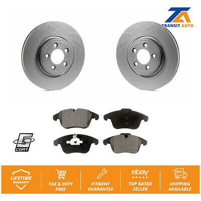 Front /& Rear Rotors Brake Pads Jaguar S-Type Vanden Plas XF XJ8 XK 326MM Kit