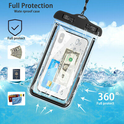 Waterproof Case Underwater Cover Dry Bag Pouch For Mobile Cell Phone Universal