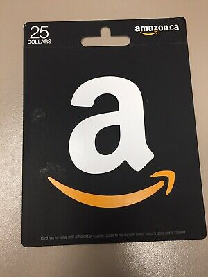 25 Dollar Amazon Gift Card Canadian