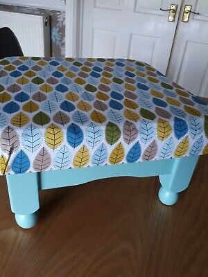 Unique Upcycled Foot Stool