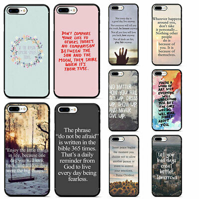 INSPIRATIONAL QUOTES HARD Phone Cover Case for iphone XS Max