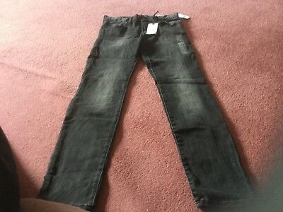 Gap Kids 1969  Black High Stretch Skinny Jeans 14 Regular