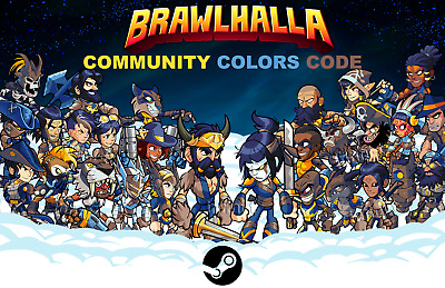 Brawlhalla - Community Colors - Steam Key