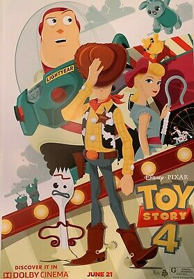 "Disney Toy Story 4 Movie Poster 19"" x 13"""