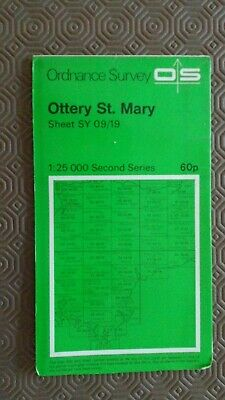 """Ordnance Survey 2.5"""" Map SY09/19 Ottery St Mary West Hill Exeter AP Aylesbere"""