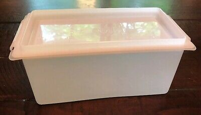 Vtg Tupperware 1 Pound Butter Saver Keeper 639 Cheese Sheer with lid
