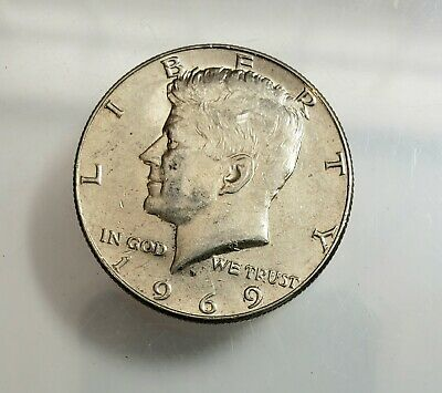 1969 Kennedy Half Dollar ~ 50 Cents ~ Check It Out! ~