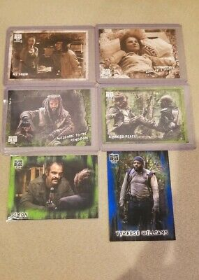 2018 Topps The Walking Dead 6X Numbered Base Cards /10 /25 /50