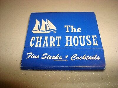 Rare Vintage Matches The Chart House Baltimore & Annapolis Maryland Original!