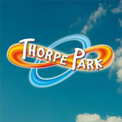 4 x THORPE PARK TICKETS ~ SATURDAY 22 JUNE ~ ALL DAY ENTRY for 4 Adults or  Kids