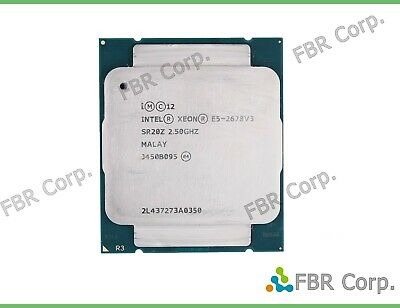 TESTED INTEL XEON E5-2678V3 SR20Z 2 5GHz 12 Core 30MB 6 4GT