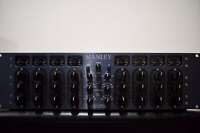 MANLEY LABS MASSIVE Passive Stereo Tube Equalizer Owners Manual