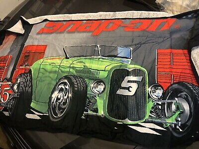 NEW! SNAP ON NWT VINTAGE Green HOT ROD BEACH TOWEL LIMITED EDITION RARE