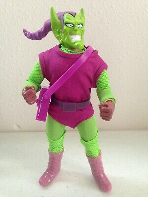 """Mego Green Goblin Satchel Bag Reproduction For 8"""" Action Figure WGSH Parts Lot"""