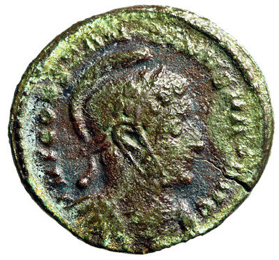 """ANCIENT LONDON Constantine I The Great Roman Coin """"Heroic Portrait"""" CERTIFIED"""
