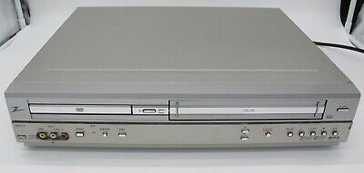 TESTED Zenith XBV243 DVD VHS Recorder Combo Player Silver