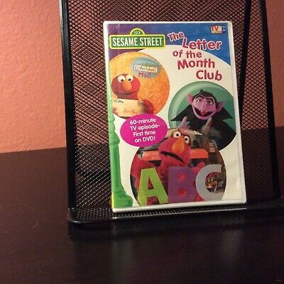 Sesame Street The Letter Of The Month Club.Sesame Street The Letter Of The Month Club 4 69 Picclick