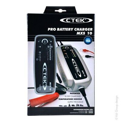 Ctek Mxs 10 Fully Automatic Battery Charger (Charges, Maintains And Reconditions