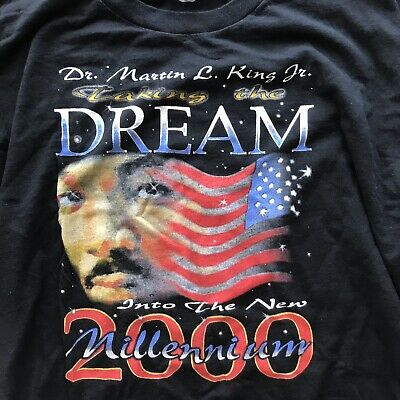 Vtg Martin Luther King Jr 3xl Rap T Shirt Obama Vintage Rare 2000