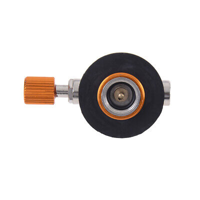 Gas stove valve flat cylinder switching charging inflatable valve adapter ^S