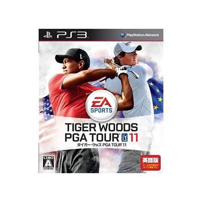 Used PS3 Tiger Woods PGA TOUR 11 Japan Ver.