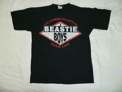 Vintage RARE!! BEASTIE BOYS ILL COMMUNICATION TOUR T-Shirt 90s USA Size
