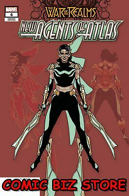 War Of The Realms New Agents Of Atlas #4 (Of 4) (2019) Scarce 1:25 Variant Cvr