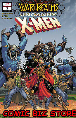 War Of The Realms Uncanny X-Men #3 (Of 3) (2019) 1St Printing Yardin Main Cover